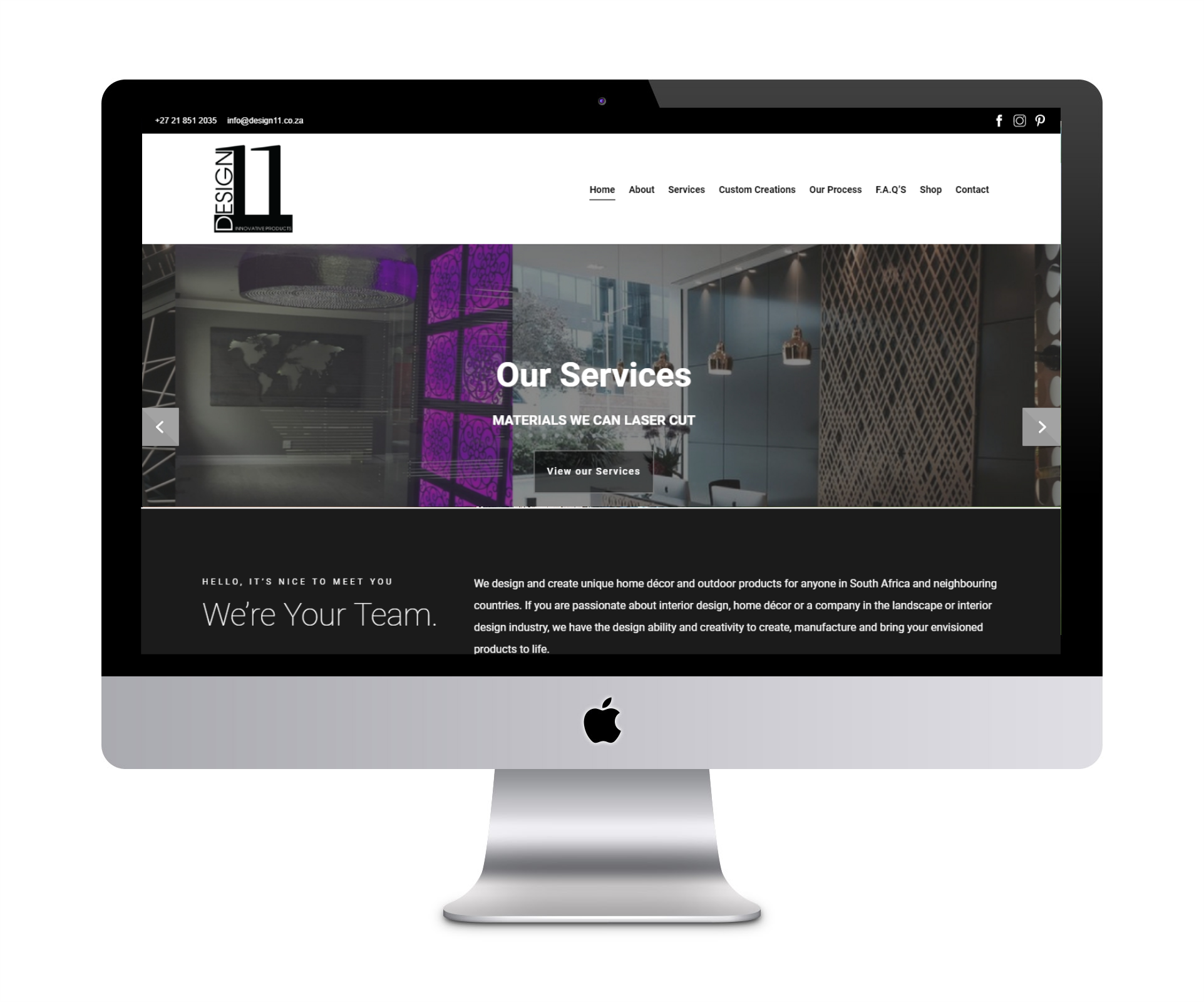 Design 11 website