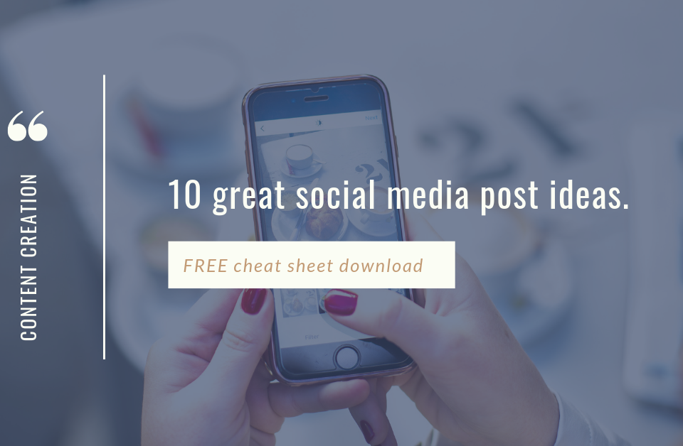 10 great social media post ideas