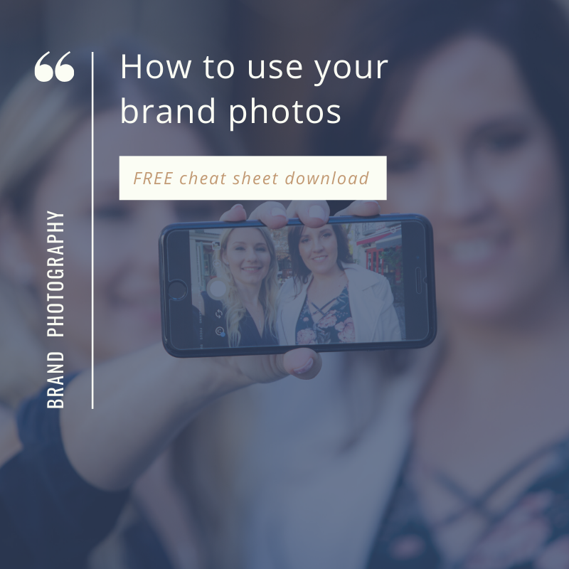How to use your brand photos free resource